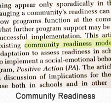 Community Readiness